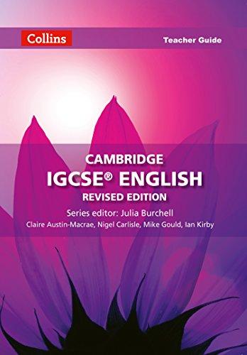 9780007520732: Cambridge IGCSE English Teacher Guide (Collins Cambridge IGCSE English)