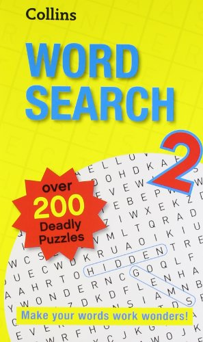 9780007520954 - Collins: Collins Word Search 2 in Only - Book