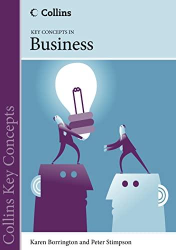 9780007521968: Business (Collins Key Concepts)