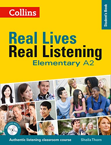 9780007522316: Elementary Student?s Book (Real Lives Real Listening)