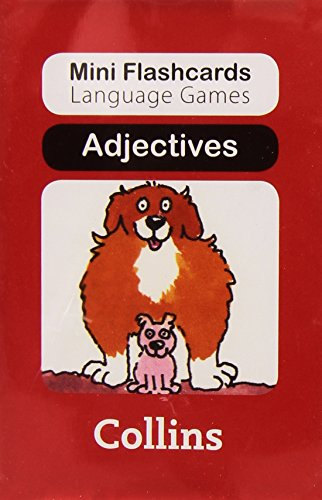 9780007522361: Adjectives (Mini Flashcards Language Games)