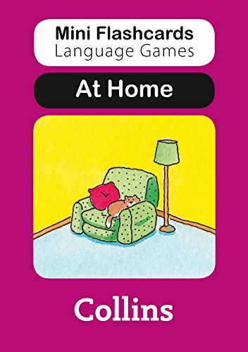 9780007522385: At Home (Mini Flashcards Language Games)