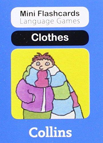 9780007522415: Clothes (Mini Flashcards Language Games)