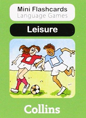 9780007522453: Leisure (Mini Flashcards Language Games)