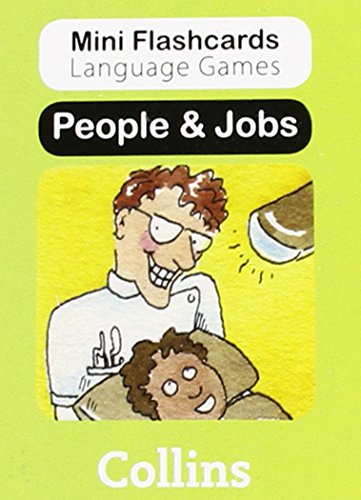 9780007522460: People & Jobs (Mini Flashcards Language Games)
