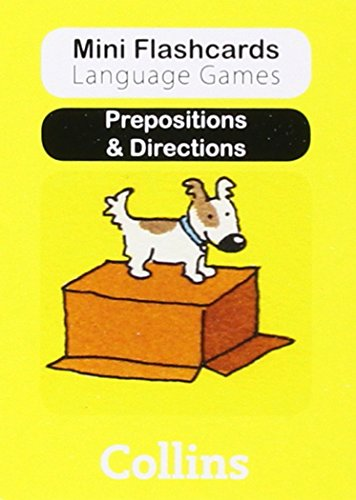 9780007522477: Prepositions & Directions (Mini Flashcards Language Games)