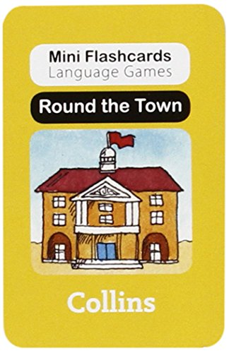 9780007522484: Round the Town (Mini Flashcards Language Games)