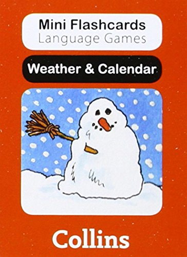 9780007522514: Weather & Calendar (Mini Flashcards Language Games)