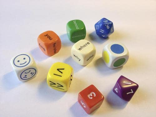9780007522576: Dice - Dice Pack (Mini Flashcards Language Games)