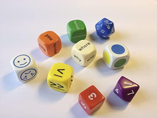 9780007522576: Mini Flashcards Language Games: Dice - Dice Pack