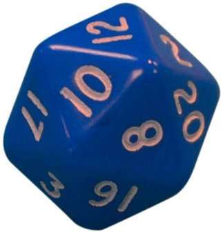 9780007522583: Dice - Numbers 1 - 20