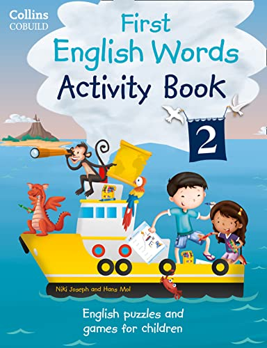 9780007523122: Activity Book 2: Age 3-7 (Collins First English Words)