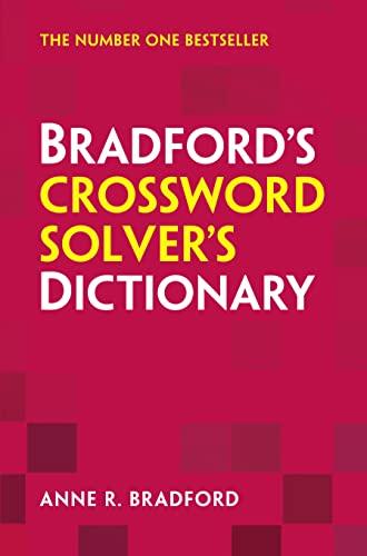 9780007523399: Bradford's Crossword Solver's Dictionary