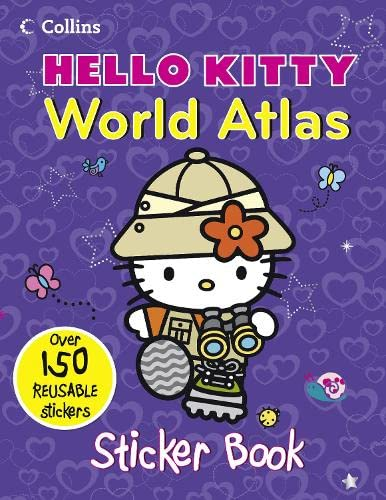 9780007523610: Hello Kitty World Atlas: Sticker Book