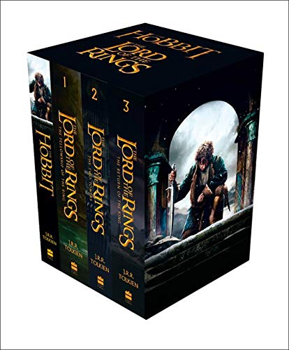 9780007525515: The Hobbit and The Lord of the Rings (Box Set of Four Paperbacks)