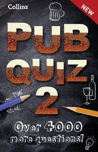 9780007525621: Collins Pub Quiz 2 (Quiz Books)