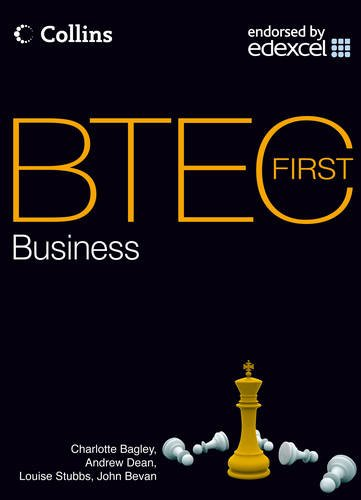 9780007529414: BTEC First Business 2012 - Student Textbook: First teaching 2012