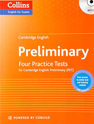 9780007529551: Four Practice Tests for Cambridge English: Preliminary (PET)