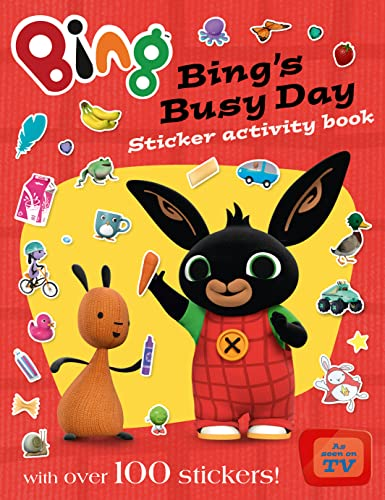 9780007529834: Bing's Busy Day Sticker Activity Book