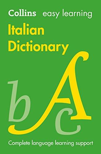 9780007530939: Easy Learning Italian Dictionary (Collins Easy Learning Italian)