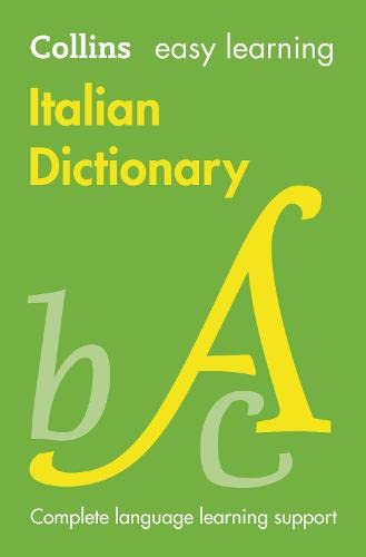 9780007530939: Easy Learning Italian Dictionary (Collins Easy Learning Italian) (Italian and English Edition)