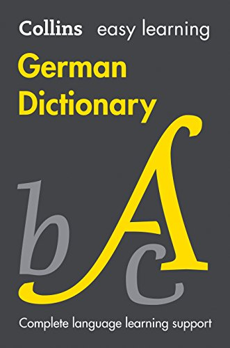 9780007530953: Collins Easy Learning German: Easy Learning German Dictionary