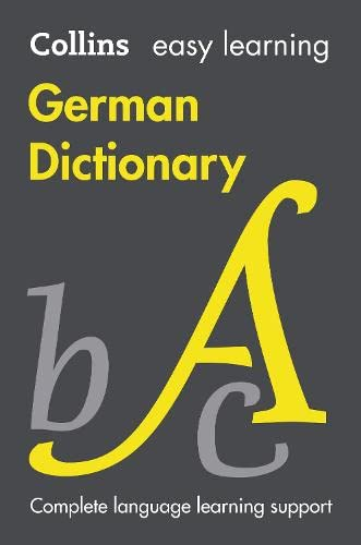 9780007530953: Easy Learning German Dictionary (Collins Easy Learning German)
