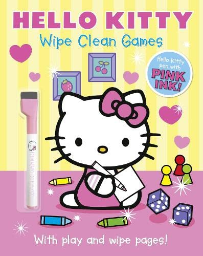 9780007531059: Hello Kitty: Wipe Clean Games