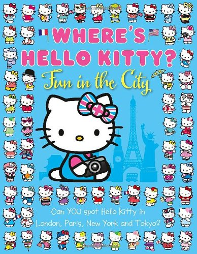 9780007531066: Where's Hello Kitty: Fun in the City (Hello Kitty)