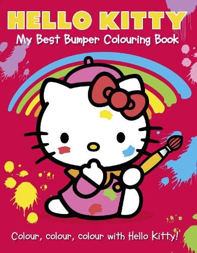9780007531073: Hello Kitty: My Best Bumper Colouring Book (Hello Kitty)