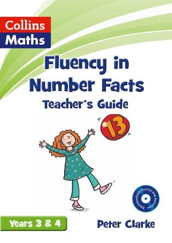 9780007531288: Fluency in Number Facts - Teacher's Guide Years 3 & 4