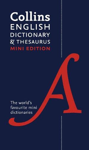 9780007531950: Collins Mini Dictionary & Thesaurus