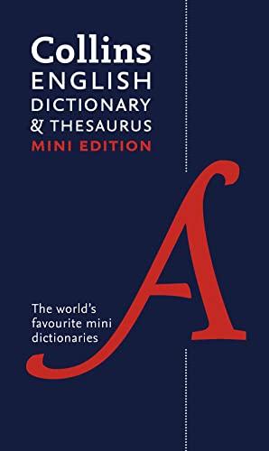 9780007531950: Collins Mini Dictionary & Thesaurus