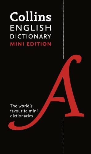 9780007532063: Collins Mini English Dictionary