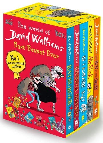 9780007532216: The World of David Walliams: Best Boxset Ever