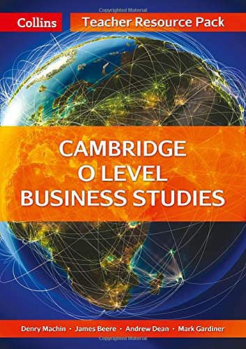 9780007532452: Cambridge O Level Business Studies Teacher Resource Pack (Collins Cambridge O Level)