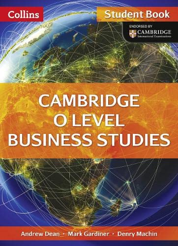 9780007532469: Collins Cambridge O Level  - Cambridge O Level Business Studies Student Book