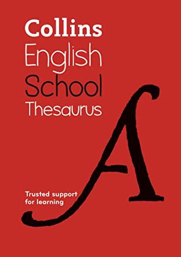 9780007535095: Collins School Thesaurus