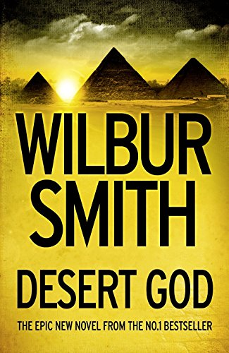 DESERT GOD - SIGNED FIRST EDITION FIRST PRINTING