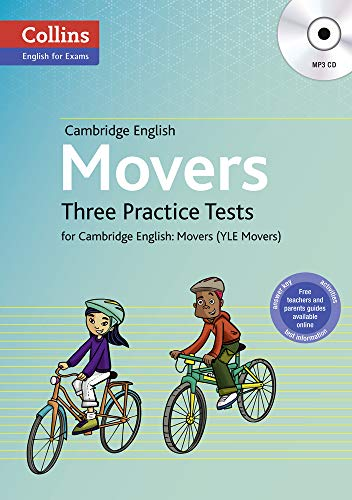 9780007535972: Three Practice Tests for Cambridge English: Movers (Yle Movers)