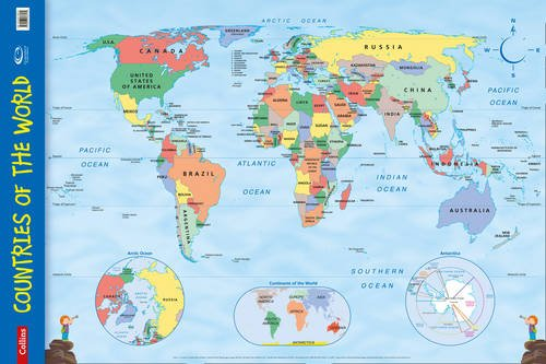 9780007536139: Countries of the World (Collins Primary Atlases)