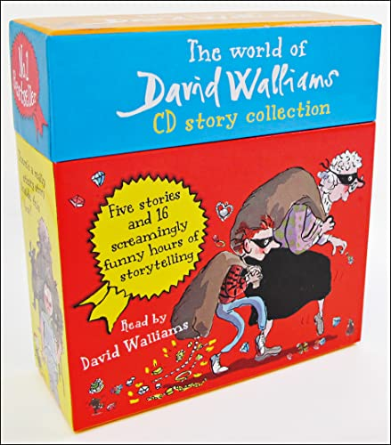 9780007536351: The World of David Walliams CD Story Collection: The Boy in the dress/Mr Stink/Billionaire boy/Gangsta granny/Ratburger