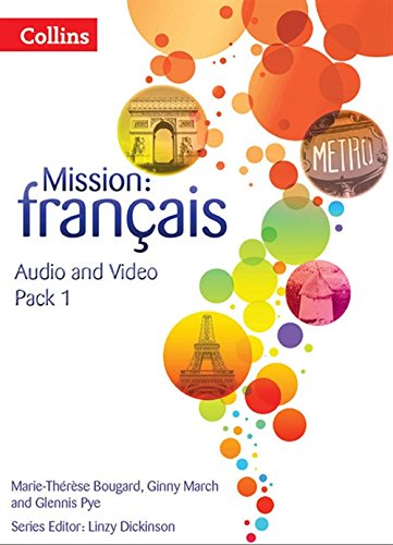 9780007536504: Mission: fran�ais - AUDIO VIDEO PACK 1 (Mission: Francais)