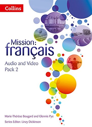 9780007536511: Mission: fran�ais - AUDIO VIDEO PACK 2 (Mission: Francais)