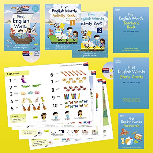 9780007536580: Collins First English Words: Activity Pack: Age 3-7