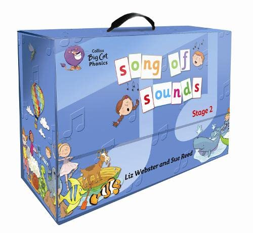 9780007537389: Song of Sounds: Year 1 Pack (Stage 2) (Collins Big Cat Phonics)