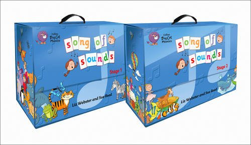 9780007537419: Collins Big Cat Phonics - Song of Sounds: Reception and Year 1 pack x 2 classes (2 x Stage 1 and 2 x Stage 2)