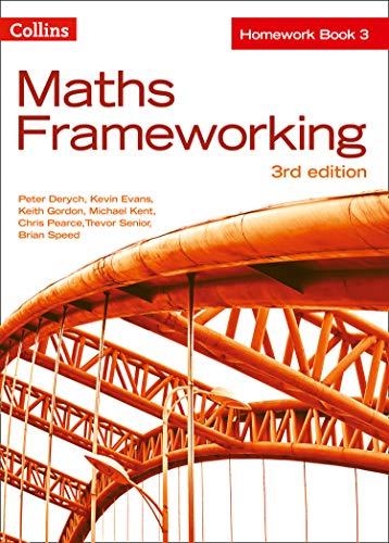 9780007537655: KS3 Maths Homework Book 3 (Maths Frameworking)