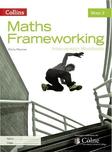 9780007537686: Maths Frameworking - Step 3 Intervention Workbook