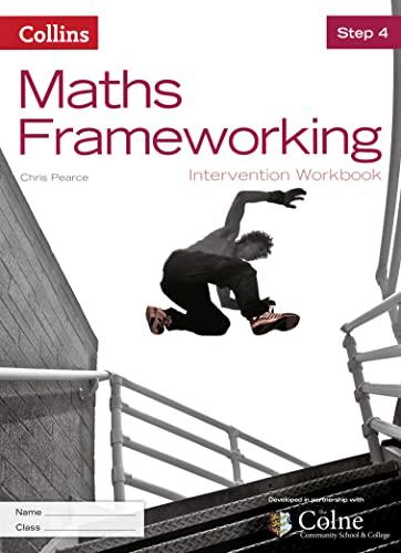 9780007537693: Maths Frameworking - Step 4 Intervention Workbook